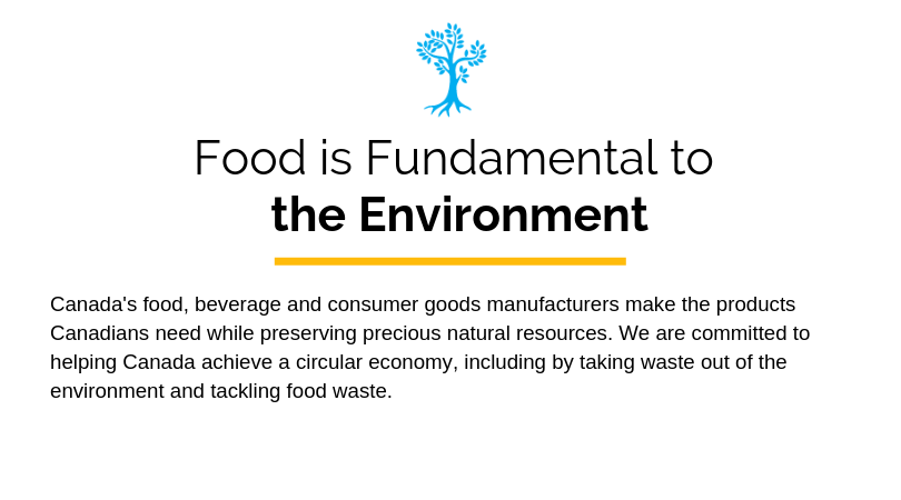 Food Is Fundamental to the Environment