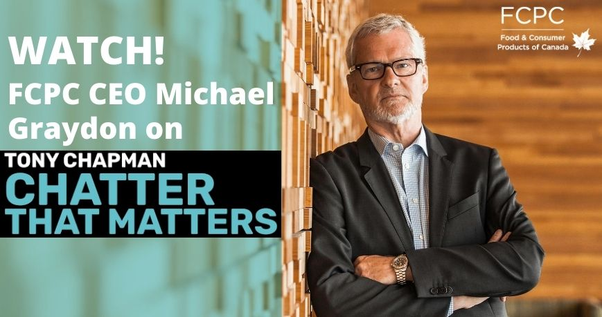 Michael Graydon appears on Chatter That Matters