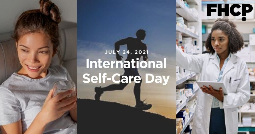 July 24 is International Self-Care Day!
